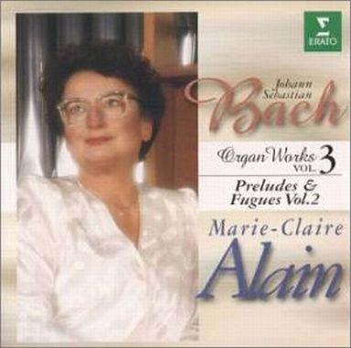 【中古】クラシックCD アラン(マリー=クレール) / オルガン作品全集3(前奏曲とフーガ集2)