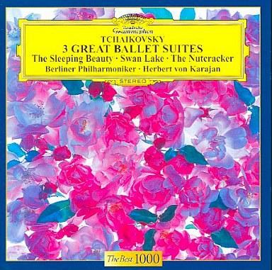 【中古】クラシックCD カラヤン(ヘルベルト・フォン) / チャイコフスキー:3大バレエ組曲<<白鳥の湖>><<くるみ割り人形>><<眠りの森の美女>>