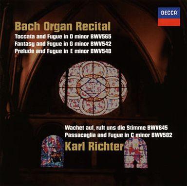 【中古】クラシックCD カール・リヒター / トッカータとフーガ?J.S.バッハ:オルガン名曲集