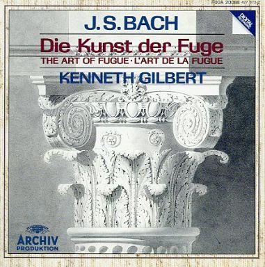 【中古】クラシックCD ケネス・ギルバート(チェンバロ) / J.S.バッハ:フーガの技法
