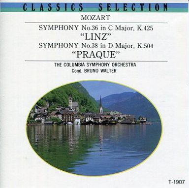 【中古】クラシックCD ブルーノ・ワルター指揮 コロンビア交響楽団 / モーツァルト:交響曲第36番「リンツ」・第38番「プラーハ」