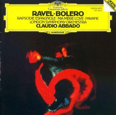 【中古】クラシックCD クラウディオ・アバド指揮 ロンドン交響楽団 / ラヴェル:「ボレロ」「スペイン狂詩曲」「マ・メール・ロワ」「亡き王女のためのパヴァーヌ」