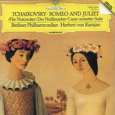 【中古】クラシックCD ヘルベルト・フォン・カラヤン指揮 ベルリン・フィルハーモニー管弦楽団 / チャイコフスキー:幻想序曲「ロメオとジュリエット」、バレエ組曲「くるみ割り人形」