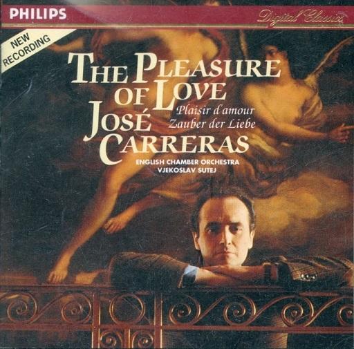 【中古】クラシックCD ホセ・カレーラス(テノール) フィエコスラフ・ステイ(指揮) / 愛の喜びは?イタリア古典歌曲集