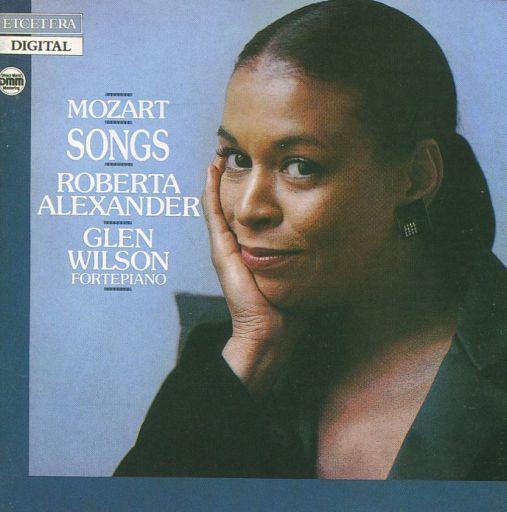 【中古】クラシックCD ロバータ・アレグザンダー(ソプラノ) グレン・ウィルソン(フォルテピアノ) / モーツァルト:歌曲集