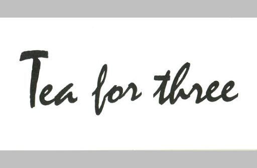 TEA FOR THREE/(廃盤)君を真実に...