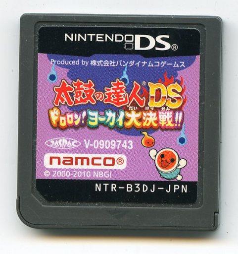 【中古】ニンテンドーDSソフト 太鼓の達人DS ドロロン!ヨーカイ大決戦!! (箱説なし)