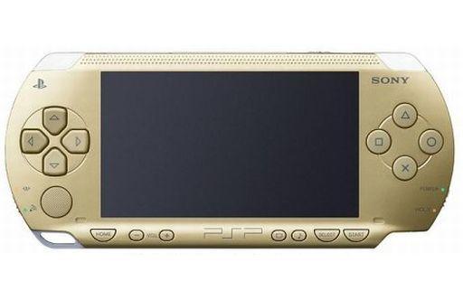 【中古】PSPハード PSP本体 [シャンパンゴールド](本体単品/付属品無) (箱説なし)