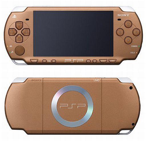 【中古】PSPハード PSP本体 バリューパック マット・ブロンズ(本体単品/付属品無) (箱説なし)