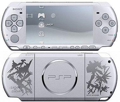 【中古】PSPハード PSP本体 ガンダムvsガンダム仕様カラー[PSP-3000](本体単品/付属品無) (箱説なし)