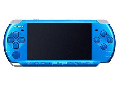 【中古】PSPハード PSP本体 バイブラント・ブルー(PSP-3000VB/本体単品/付属品無) (箱説なし)