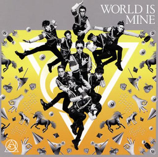 【中古】邦楽CD ランクB)RADIO FISH / WORLD IS MINE[DVD付A]