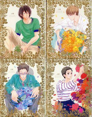 【中古】アニメBlu-ray Disc 夏雪ランデブー 初回限定版 全4巻セット