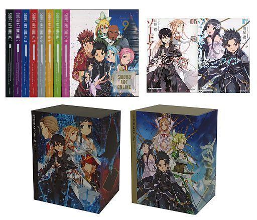 ソードアート・オンライン 完全生産限定版 BOX*2付全9巻セット