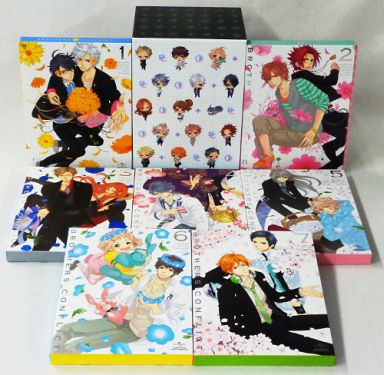 BROTHERS CONFLICT Initial limited edition all seven volume set (Amazon all 7 volume storage BOX attaching)