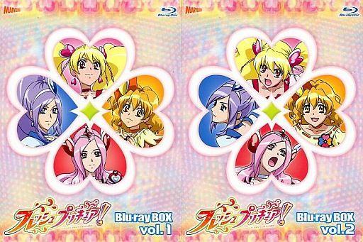 【中古】アニメBlu-ray Disc フレッシュプリキュア! Blu-ray BOX 完全初回生産限定 全2BOXセット