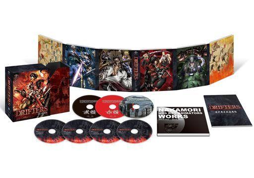 DRIFTERS Blu-ray BOX [特装限定生産]