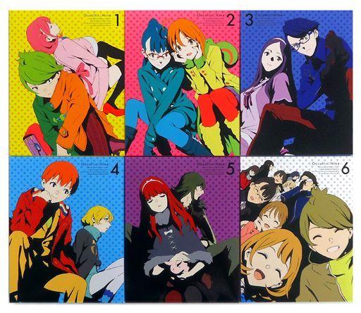 【中古】アニメBlu-ray Disc Occultic;Nine -オカルティック・ナイン- 完全生産限定盤 全6巻セット