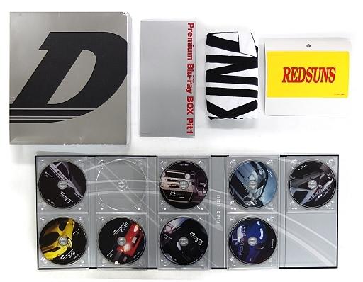 不備有)頭文字[イニシャル]D Premium Blu-ray BOX Pit1(状態:DISC3欠品、BOXに傷み有り)
