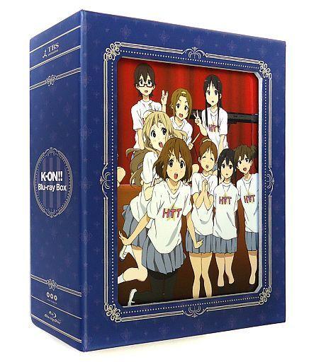 不備有)けいおん!! Blu-ray Box [初回限定生産](状態:DISC1・フィギュア欠品)