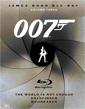 【中古】洋画Blu-ray Disc 007 ブルーレイディスク 3枚パック Vol.3