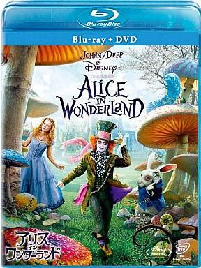 【中古】洋画Blu-ray Disc アリス・イン・ワンダーランド ブルーレイ&DVDセット