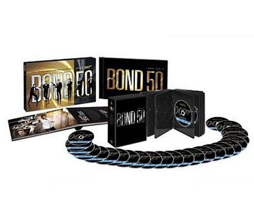 【中古】洋画Blu-ray Disc 007 製作50周年記念版 ブルーレイBOX[初回生産限定]