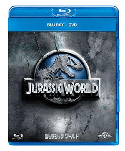 【中古】洋画Blu-ray Disc ジュラシック・ワールド ブルーレイ&DVDセット