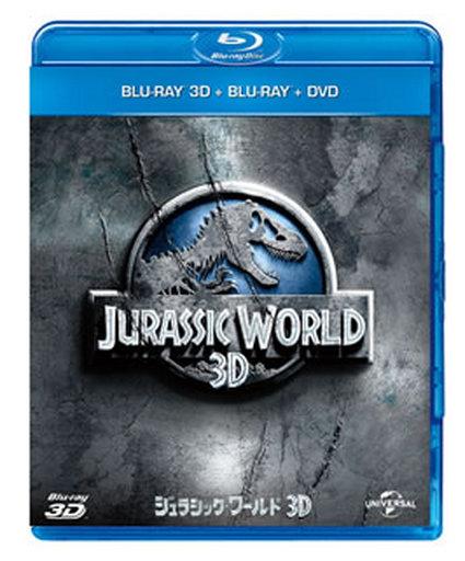 【中古】洋画Blu-ray Disc ジュラシック・ワールド3D ブルーレイ&DVDセット