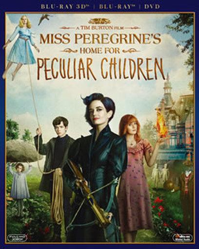 【中古】洋画Blu-ray Disc ミス・ペレグリンと奇妙なこどもたち 3D・2Dブルーレイ&DVD[初回生産限定]