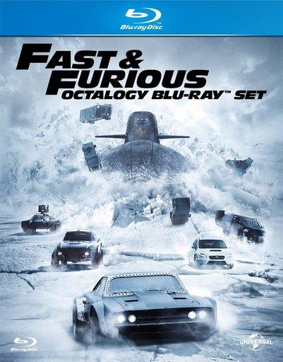 【中古】洋画Blu-ray Disc ワイルド・スピード オクタロジー Blu-ray SET [初回生産限定]