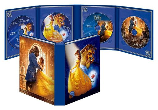 【中古】洋画Blu-ray Disc 美女と野獣 MovieNEX コレクション [期間限定版]