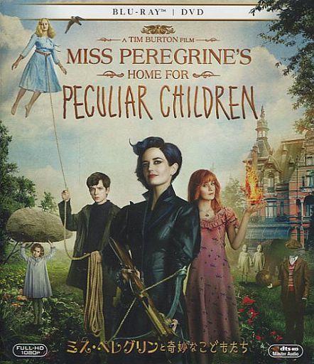 【中古】洋画Blu-ray Disc 不備有)ミス・ペレグリンと奇妙なこどもたち ブルーレイ&DVD [初回生産限定](状態:スリーブ欠品)