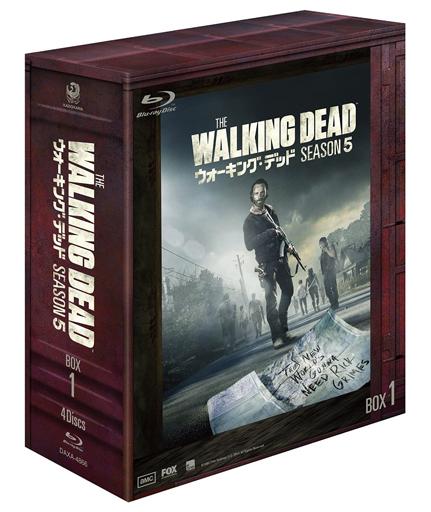【中古】海外TVドラマBlu-ray Disc ウォーキング・デッド シーズン5 Blu-ray BOX 1