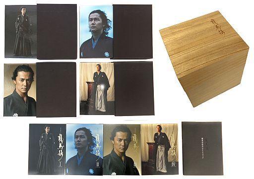 【中古】国内TVドラマBlu-ray Disc NHK大河ドラマ 龍馬伝 完全版 Blu-ray BOX 4BOXセット(全巻収納桐箱・ガイドブック付き)