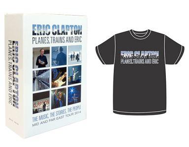 【中古】洋楽Blu-ray Disc エリック・クラプトン/プレーンズ、トレインズ&エリック?ジャパン・ツアー2014 [Tシャツ+オリジナル・データ・ブック付き BOX]