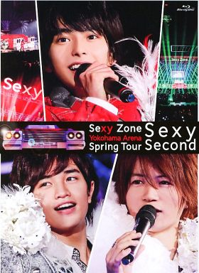 【中古】邦楽Blu-ray Disc Sexy Zone / Sexy Zone Spring Tour Sexy Second [初回限定版]