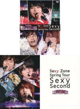 【中古】邦楽Blu-ray Disc Sexy Zone / Sexy Zone Spring Tour Sexy Second [初回限定版](トレカ欠け)