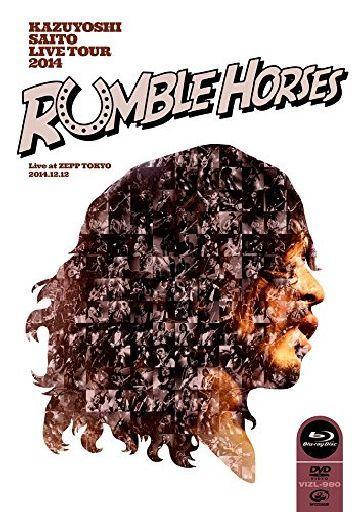 【中古】邦楽Blu-ray Disc 斉藤和義 / KAZUYOSHI SAITO LIVE TOUR 2014 RUMBLE HORSESLive at ZEPP TOKYO 2014.12.12 [初回限定盤]