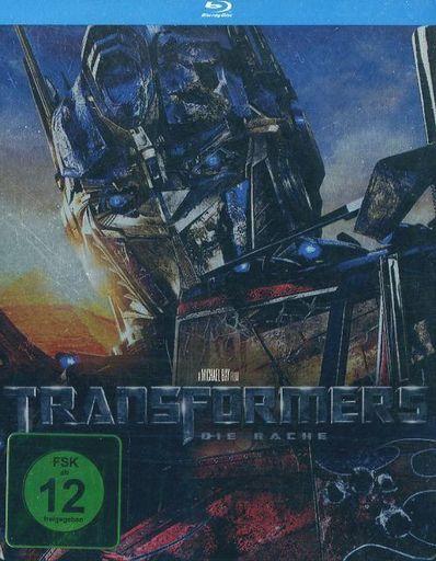 【中古】輸入洋画Blu-rayDisc TRANSFORMERS DIE RACHE STEELBOOK [輸入盤]