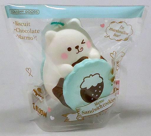 BLOOM(ブルーム) 新品 雑貨 マーモサンドクッキー チョコミント スクイーズ マスコット