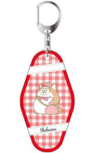 コンテンツシード 新品 雑貨 松犬(柴犬ver.) 両面キーホルダー ピクニック 「おそ松さん」