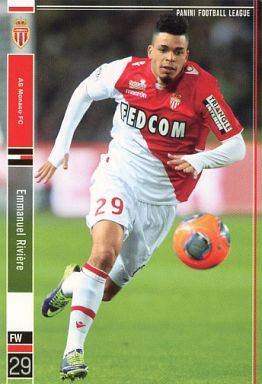 【新品】パニーニ フットボールリーグ/R/FW/AS Monaco FC/2014 04[PFL08] PFL08 080/178 [R] : エマヌエル・リビエール