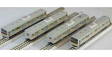 KATO(カトー) 新品 鉄道模型 1/150 205系3000番台 八高線色 4両セット [10-494]