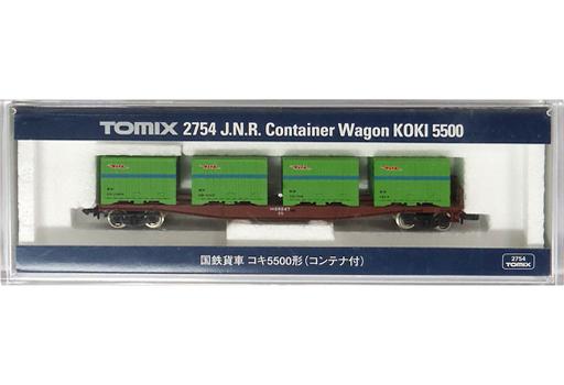 トミックス(TOMIX) 新品 鉄道模型 1/150 国鉄貨車 コキ5500形 コンテナ付き [2754]