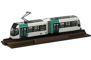 【中古】Nゲージ(車両) 1/150 鉄道コレクション 富山ライトレール グリーン