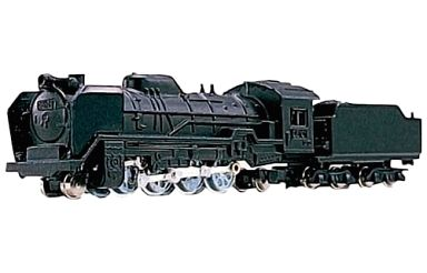 【中古】Nゲージ(ストラクチャー・アクセサリー) 1/150 D-51蒸気機関車 「Nゲージダイキャストスケールモデル No.38」