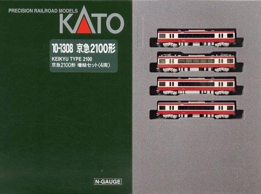 【新品】Nゲージ(車両) 1/150 京急2100形 4両増結セット [10-1308]