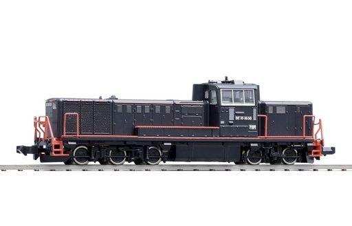 【中古】Nゲージ(車両) 1/150 JR DE10形ディーゼル機関車(JR九州黒色塗装A) [2229]