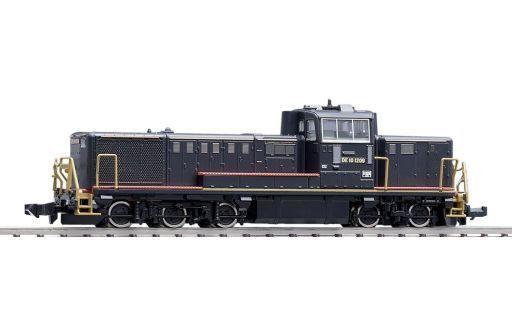 【新品】Nゲージ(車両) 1/150 JR DE10形ディーゼル機関車(JR九州黒色塗装B) [2230]